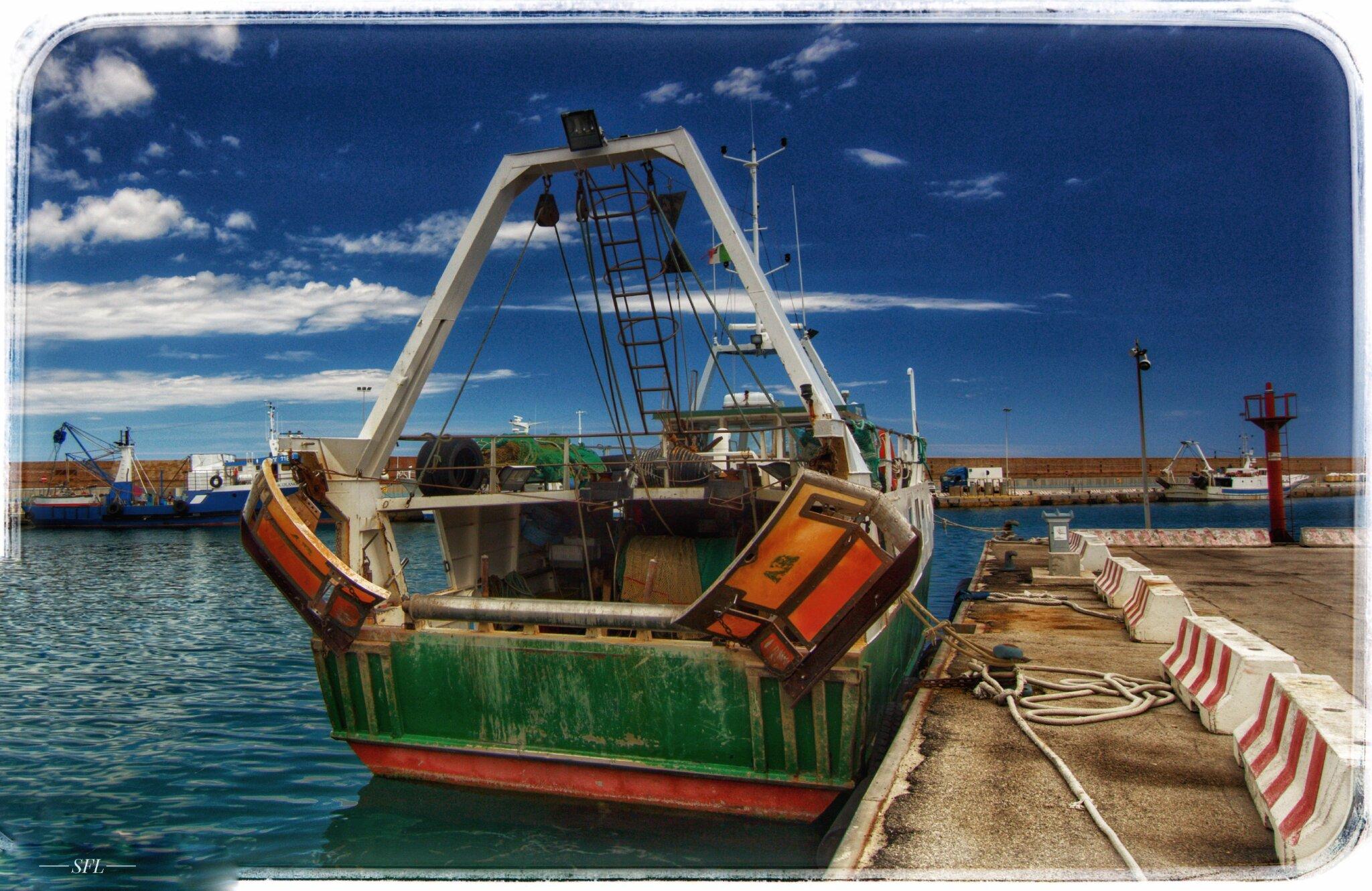Hafen von Ortona