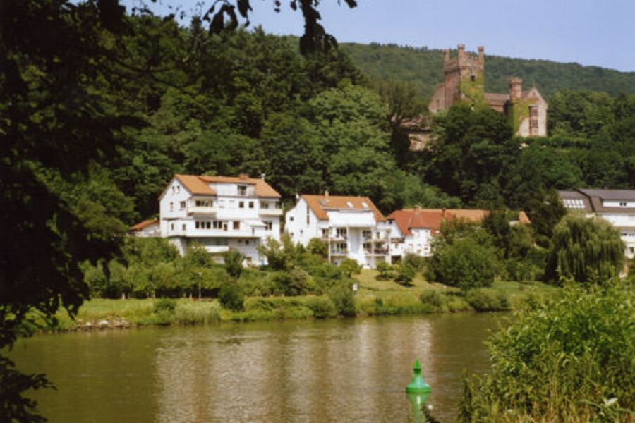 Neckarsteinach, zweites Haus von links