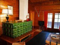 Urige Blockhaushütte im waldreichen Taunusgebiet bei Frankfu, Urige Blockhaushütte im waldreichen Ta in Waldsolms - kleines Detailbild