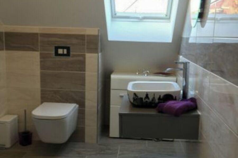 spühlrandlose Toilette