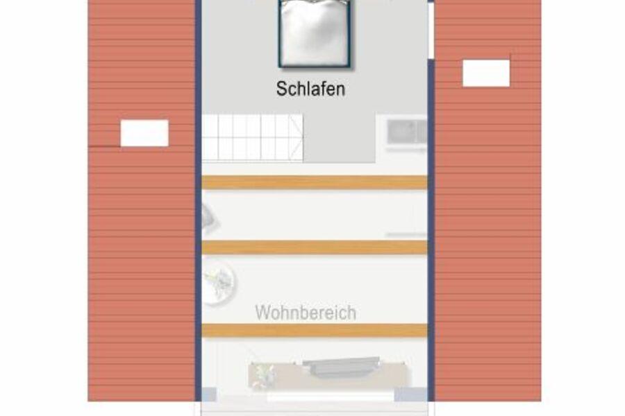 Schlafen in der oberen Etage/Klimaanlage