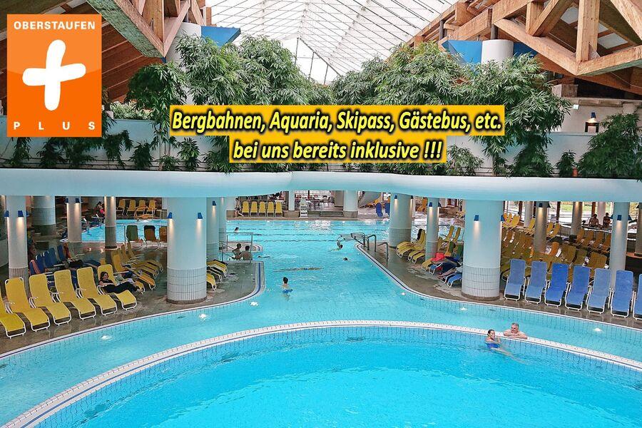 Badeoase Aquaria mit Saunaland (gratis)