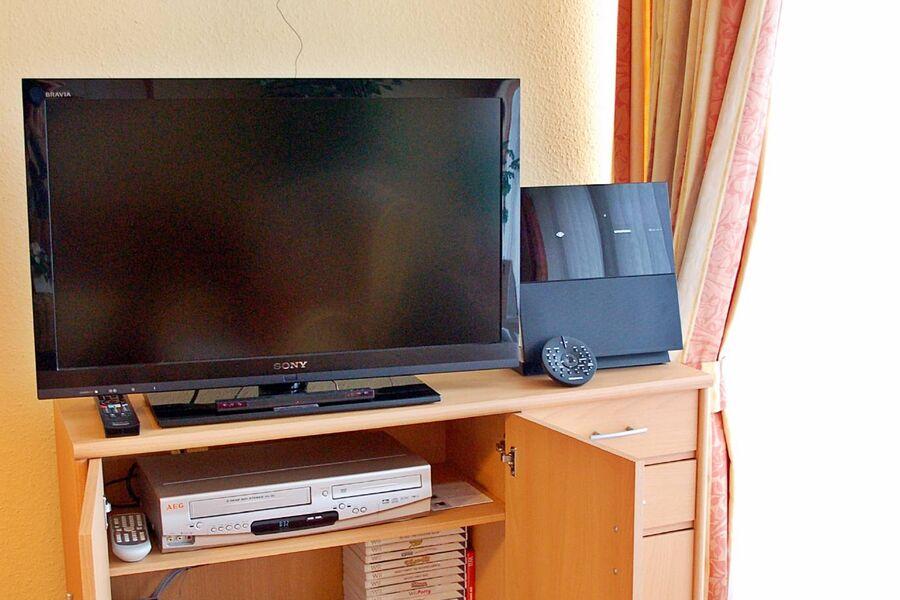 Multimedia: Full-HD-TV, DVD, Wii, Stereo