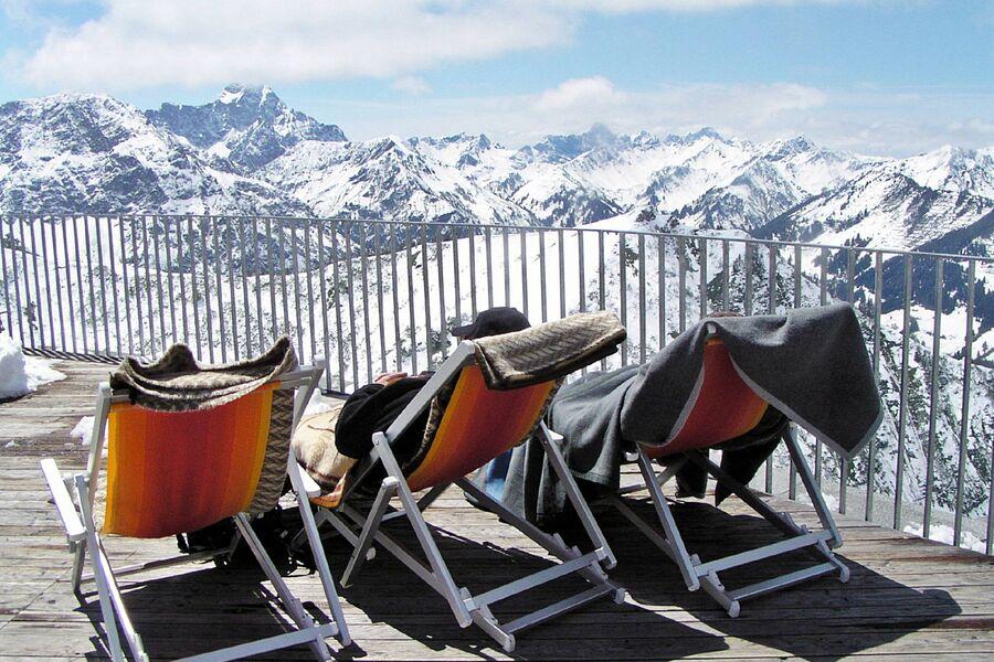 Die herrliche Wintersonne im Allgäu !!!