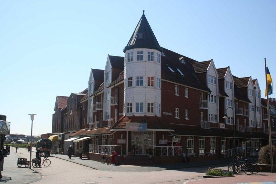 Inselresidenz Strandburg von außen