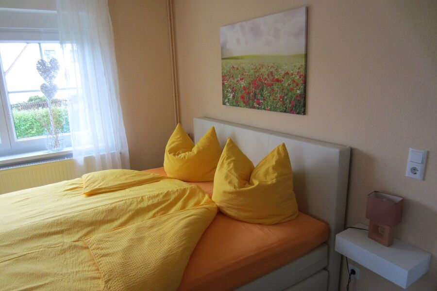 Schlafzimmer 18m² mit 3 Betten
