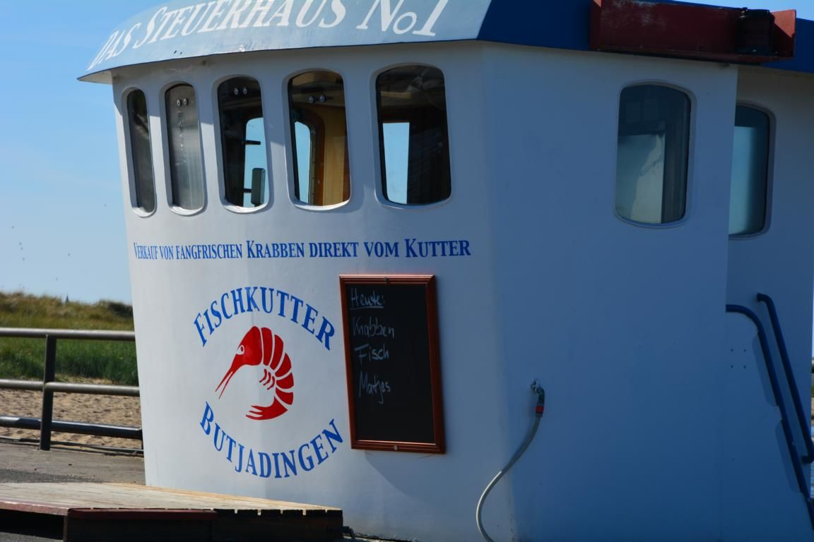 Fischverkauf 400m vom Haus