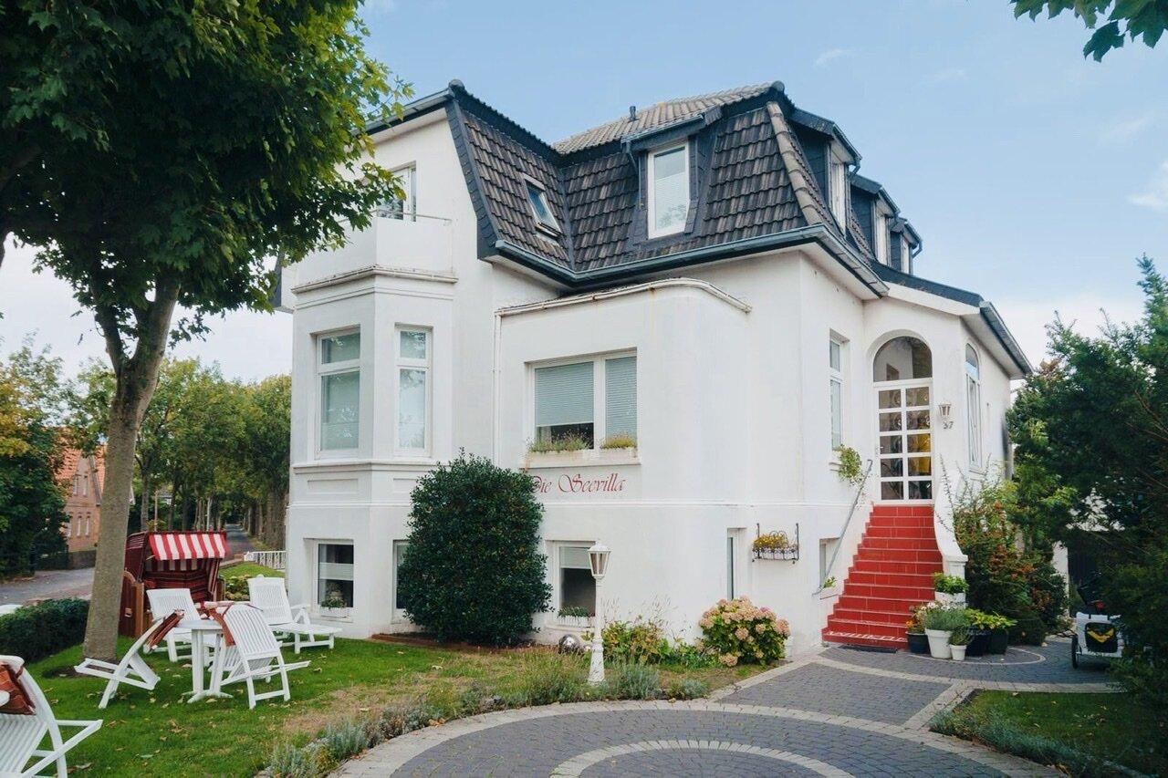 Umgebung von Jugendstilvilla 'Die Seevilla' - Ferienwohnung Baltrum
