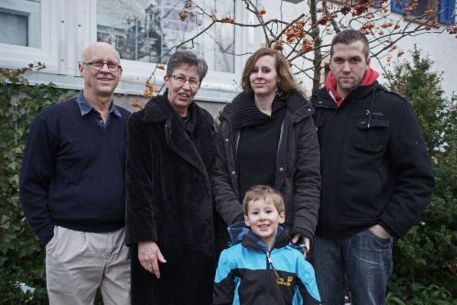 Familie Schaaf, Familie Holzheuer