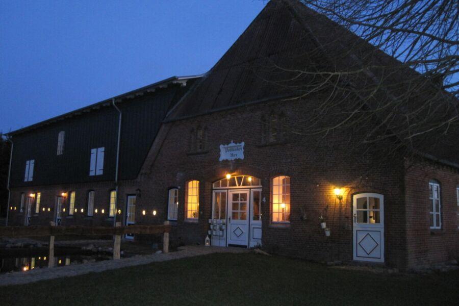 Das Pottkiekerhus im Abendlicht