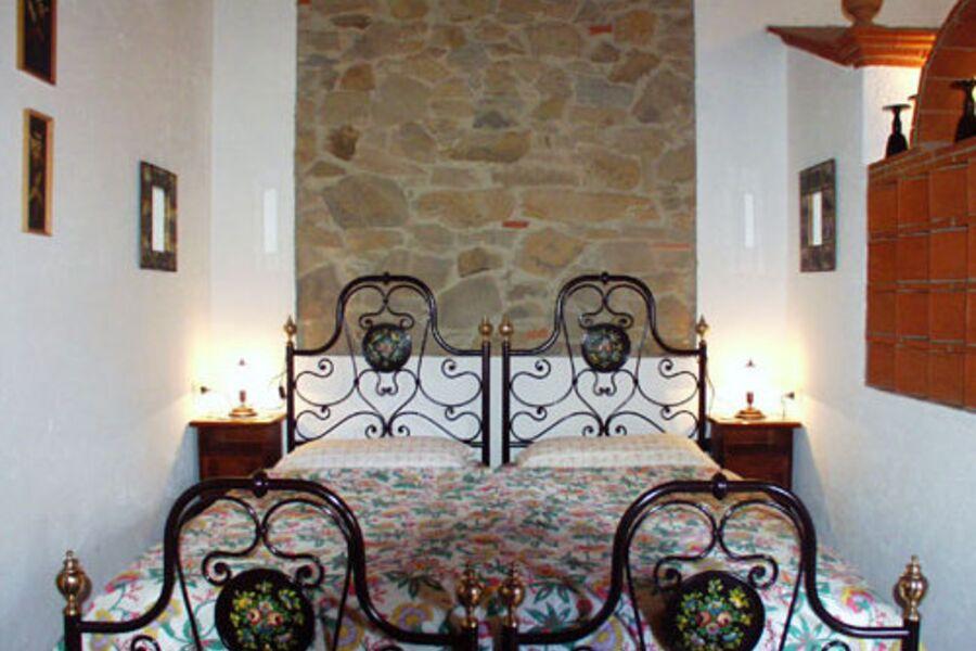 Schlafbereich Doppelbett o. Einzelbetten