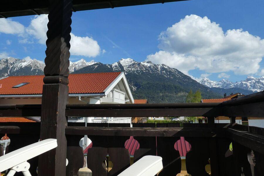 Balkon Süd-West-Seite