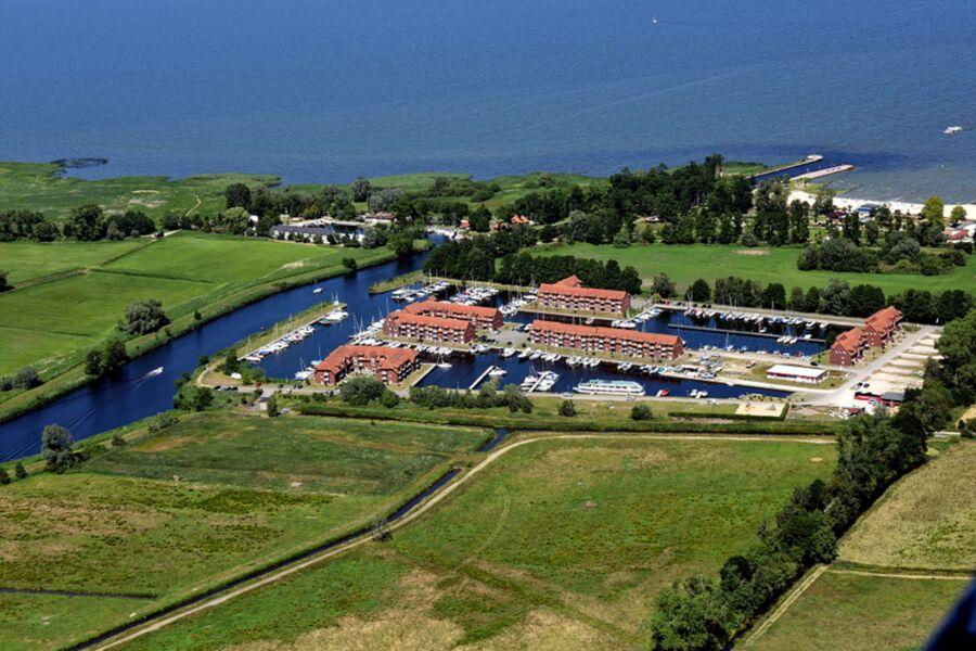 Luftbild Lagunenstadt