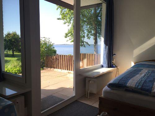 Blick aus der Ferienwohnung