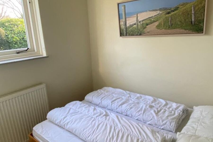 Doppelbett in 2e Schlafzimmer