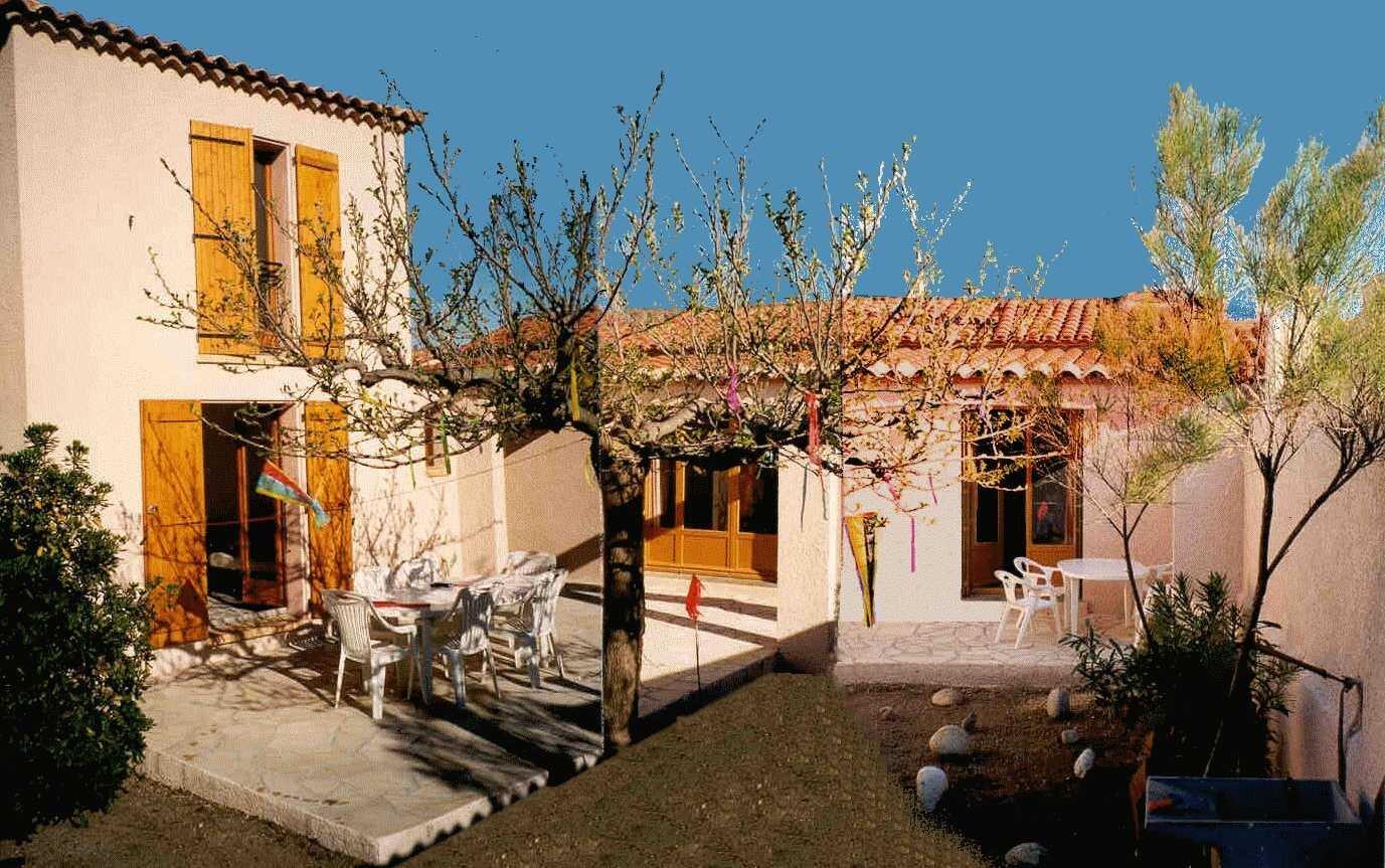 ferienhaus am mittelmeer in sainte marie plage languedoc. Black Bedroom Furniture Sets. Home Design Ideas