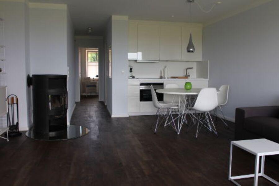 Modern ausgestatteter Wohnbereich