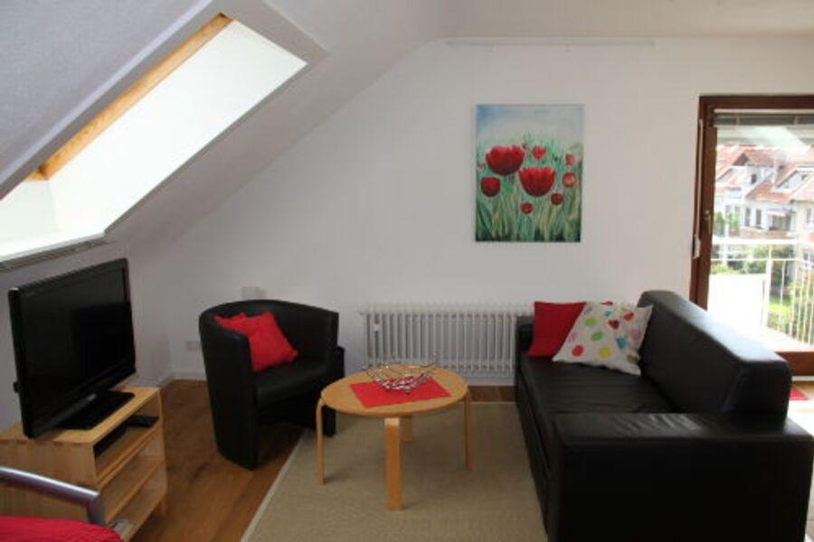 Wohnzimmer Ferienwohnung Stuttgart