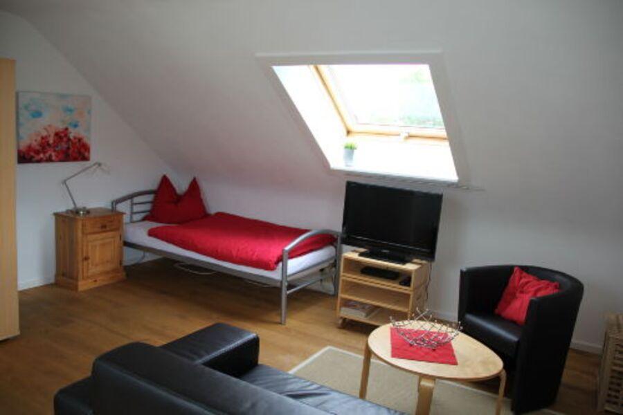 Wohn/Schlafzimmer Fewo Stuttgart