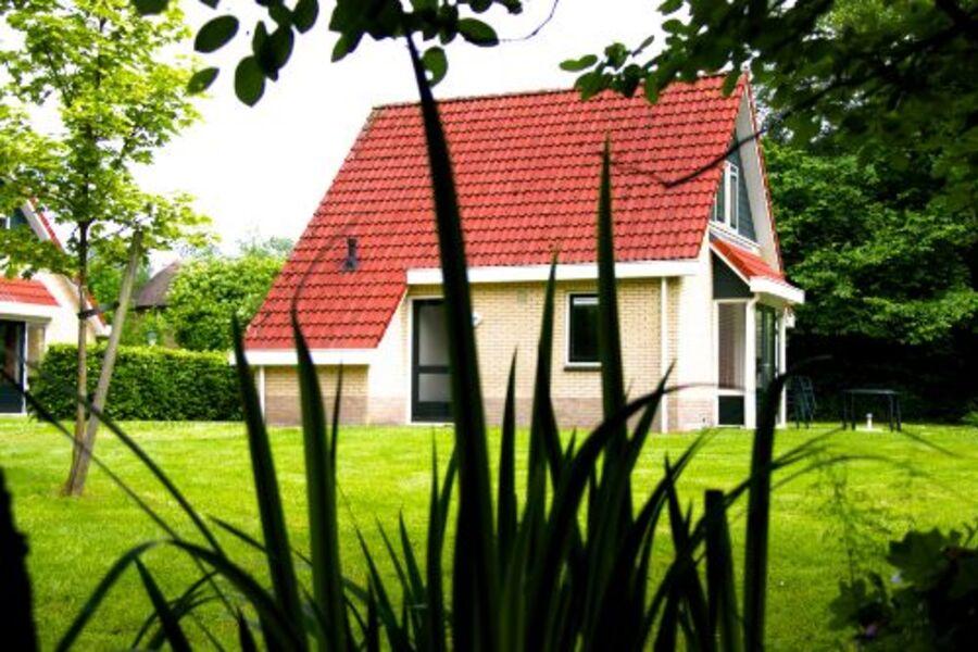 Aussenansicht Ferienhaus im Sommer