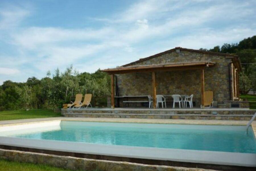 Das Casa mit Panoramaterrasse + Pool
