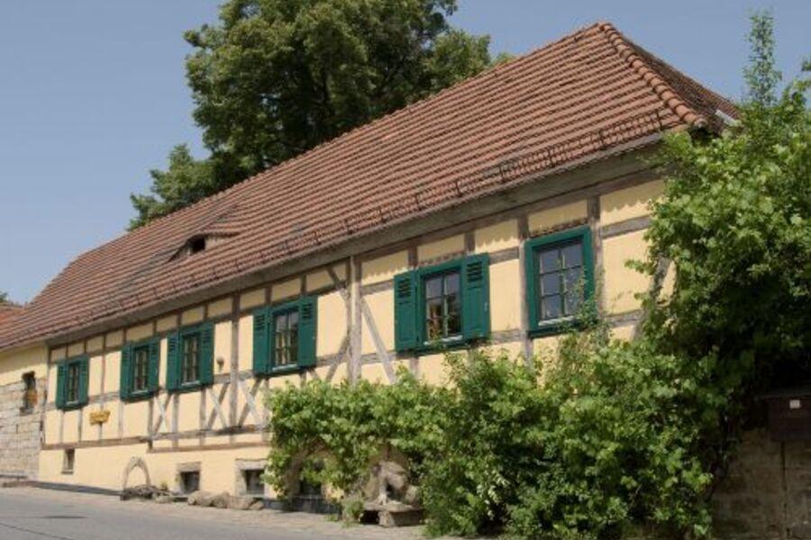 """Außenansicht Fewo """"Kunsthof Köhler"""""""