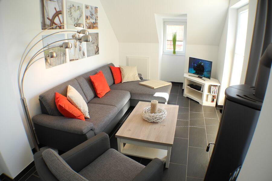 Entspannen Sie im luxuriösen Wohnbereich