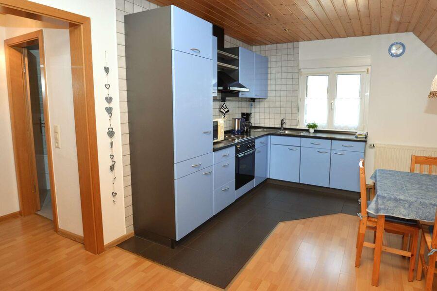Gemütliche Wohnküche für Selbstversorger