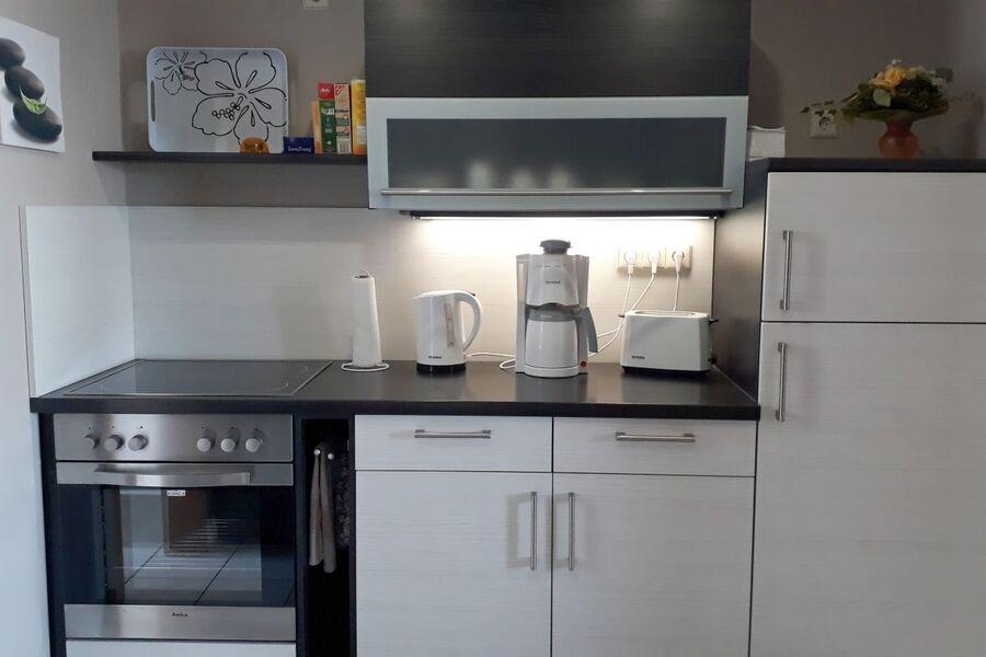 Die kleine, aber moderne Küche