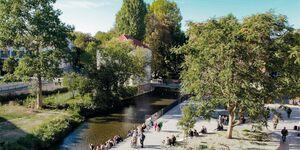 Krämerhaus, Wasser Suite in Erfurt - kleines Detailbild