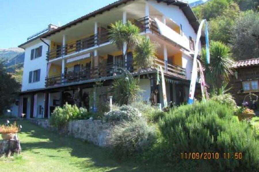 Casa Rosalia war früher mal ein Berghof.