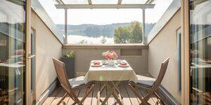 Ferienhaus 'Lebensart am See' - Appartement Loggia in Bad Endorf - kleines Detailbild