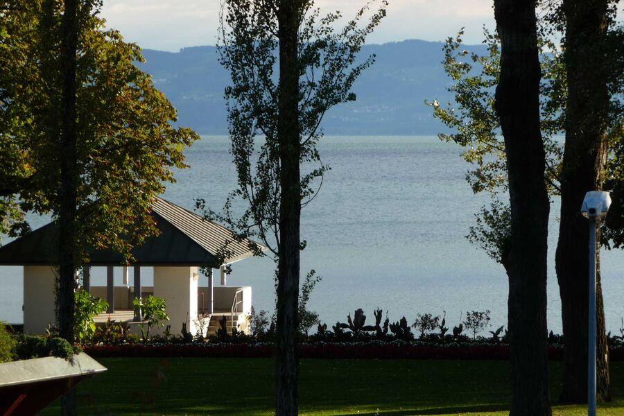 Blick vom Balkon Ihrer Ferienwohnung