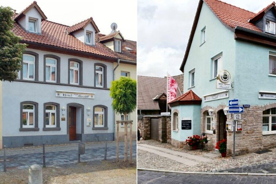 Gaststätte und Hotel, Doppelzimmer