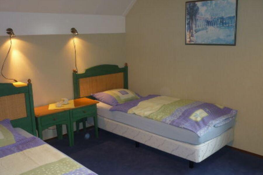 Schlafzimmer in der ersten Etage