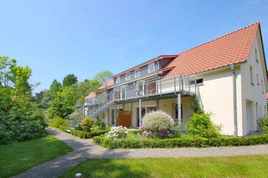 Haus Kranich, B26: 50m²; 2-Raum; 3 Erw + Kind; Ter