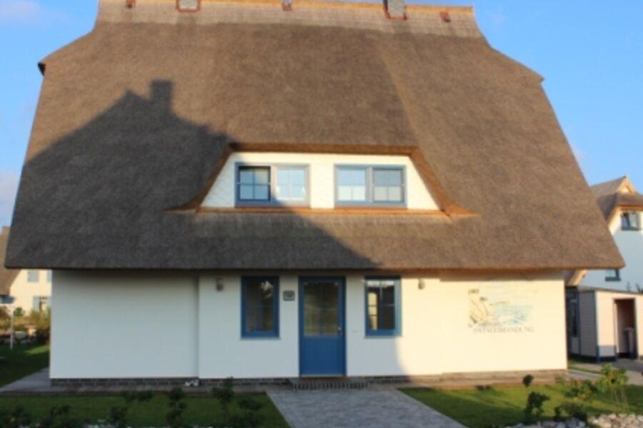 Vorderansicht Haus Ostseebrandung