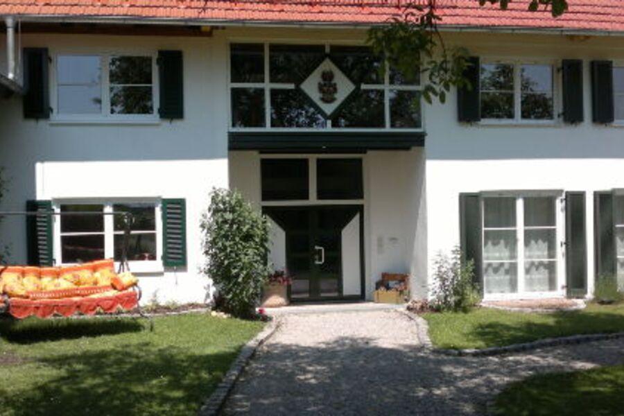 Der Birkethof - Eingangsbereich