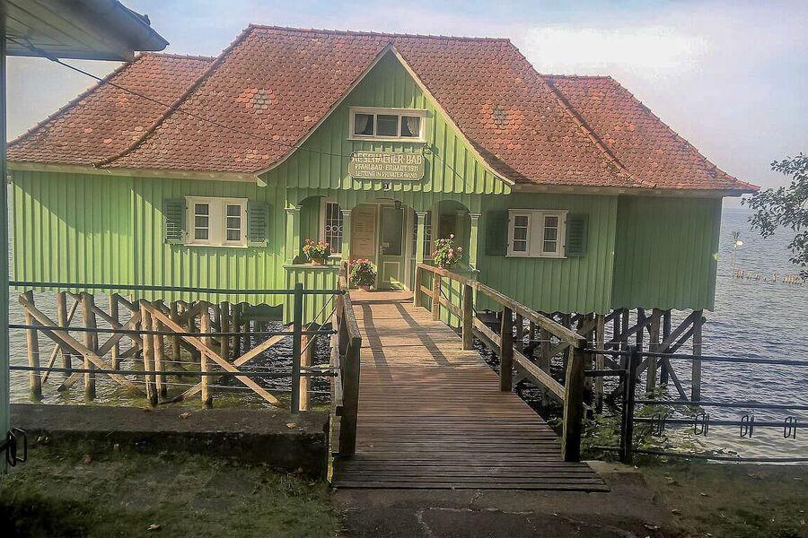 Historisches Badehaus nahe d. Wohnung