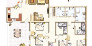 Tannzapfenland Titisee-Jostal, XXL Appartement 100-XXL in Titisee-Neustadt - kleines Detailbild