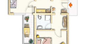 Tannzapfenland Titisee-Jostal, eXtra Appartement 107-X in Titisee-Neustadt - kleines Detailbild
