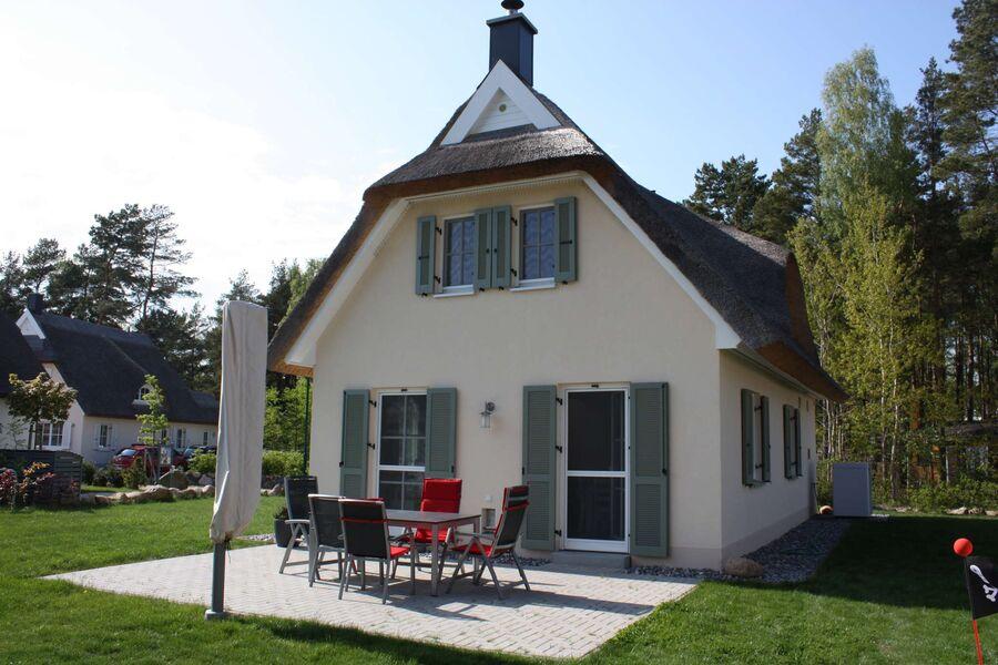 Terrasse Ferienhaus Godewind