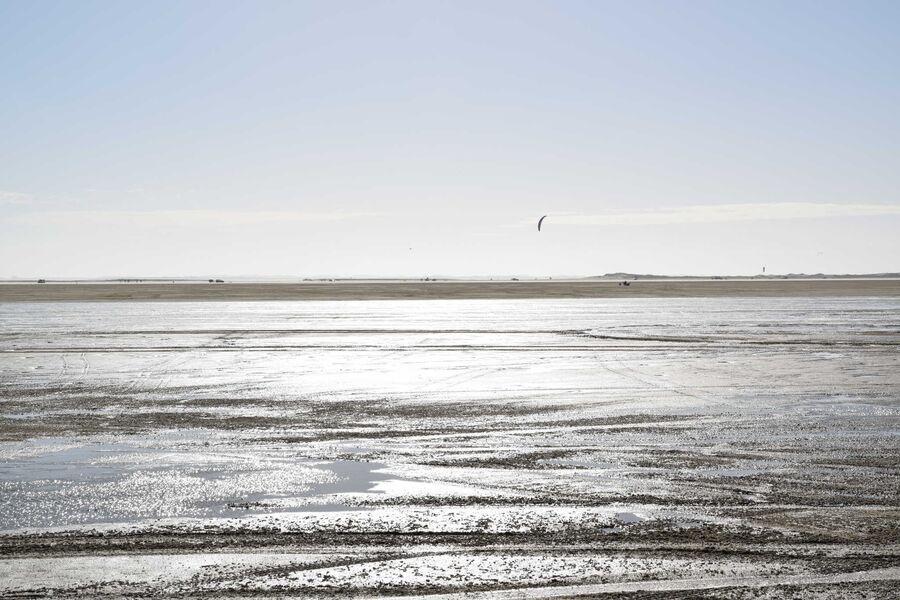 Sandstrand Insel Römö Dänemark