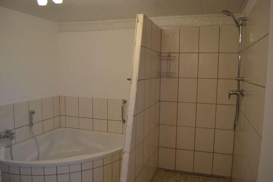 Rollstuhlgerechte Dusche
