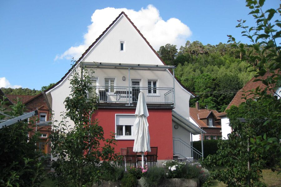 Außenansicht Haus am Schillerfelsen