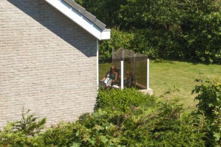 Ferienhs Texel schöne geschützte Garten