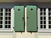 Kyritzer Ferienhäuser an der Stadtmauer, Haus 99, Fachwerk, Raumspartreppe in Kyritz - kleines Detailbild