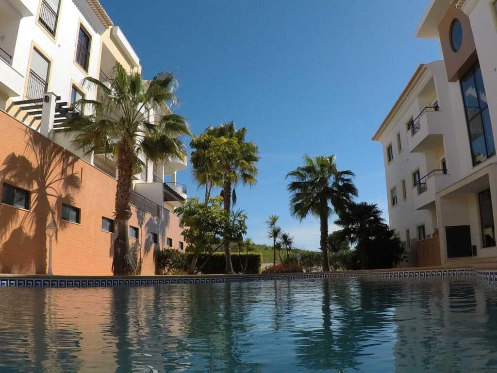 Ferienwohnung mit Pool und Meerblick, Ferienwohnung Lagos Algarve Portugal