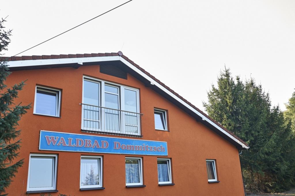 .Pension Waldbad Dommitzsch, Dreibettzimmer 1