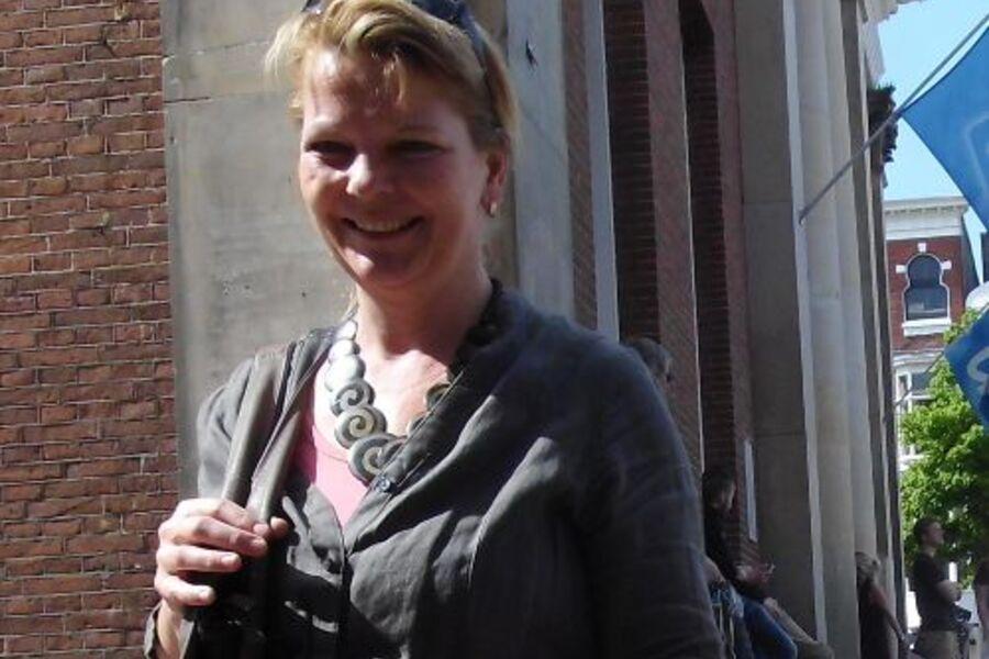 Ihre Gastgeberin Sabrina Neubauer